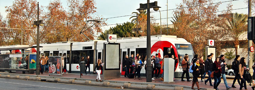 The service provided by Metrovalencia and TRAM d'Alacant prevents 67.9 million journeys by private vehicles per year