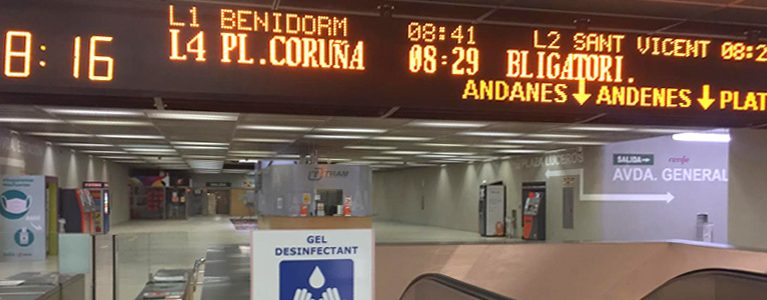 FGV install defibrillators in the main Metrovalencia and TRAM d'Alacant stations during the summer