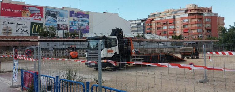 Depot for the rolling stock of TRAM d'Alacant's Line 9 in Benidorm